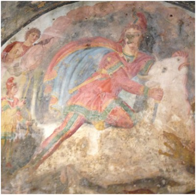 Mithra et le taureau,  Capoue