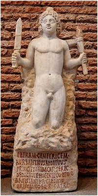 Mithra naissant de la pierre
